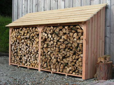 Ds buckle ltd local firewood suppliers log advice for Log storage ideas